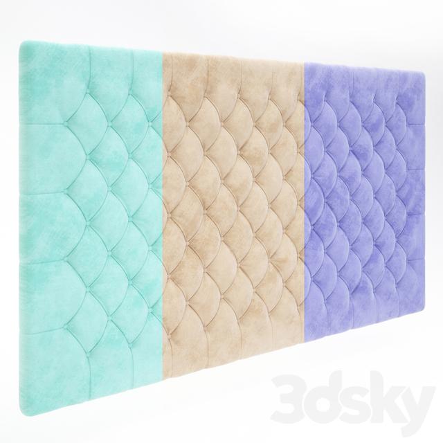 مدل سه بعدی تاج تختخواب