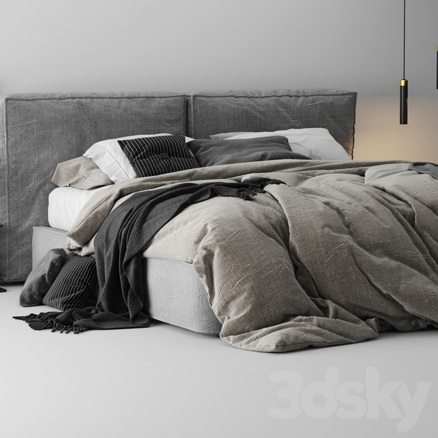 آبجکت تختخواب مدرن