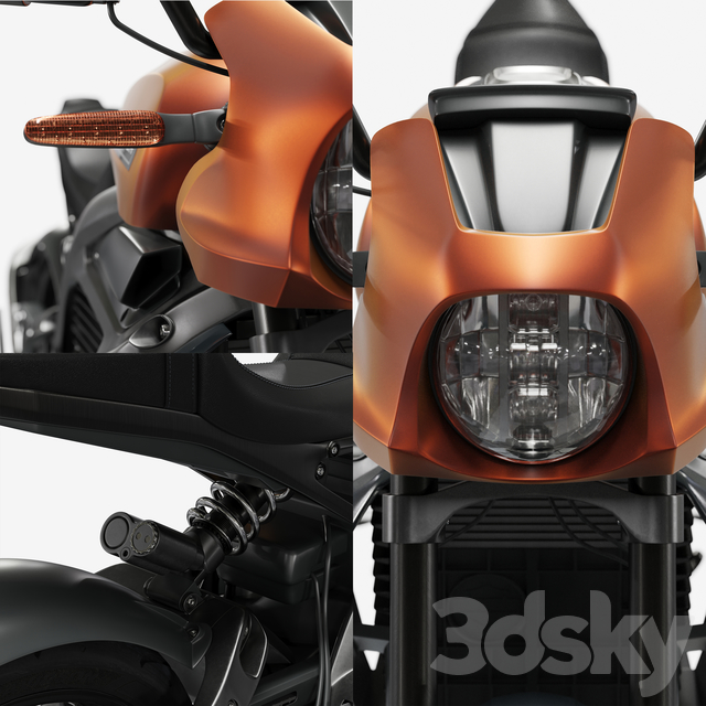 مدل سه بعدی موتور