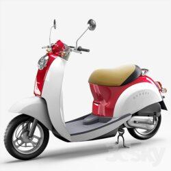 دانلود آبجکت موتور سیکلت از Pro 3DSky