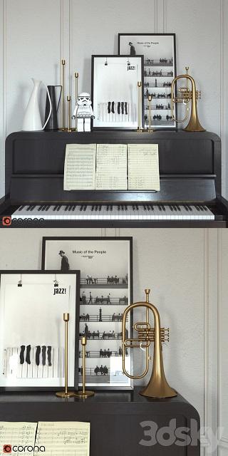 آبجکت پیانو