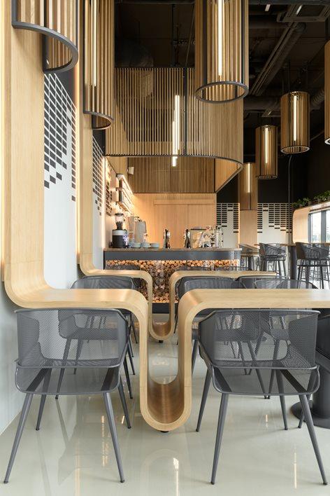 طراحی قهوه بار سازگار با محیط زیست