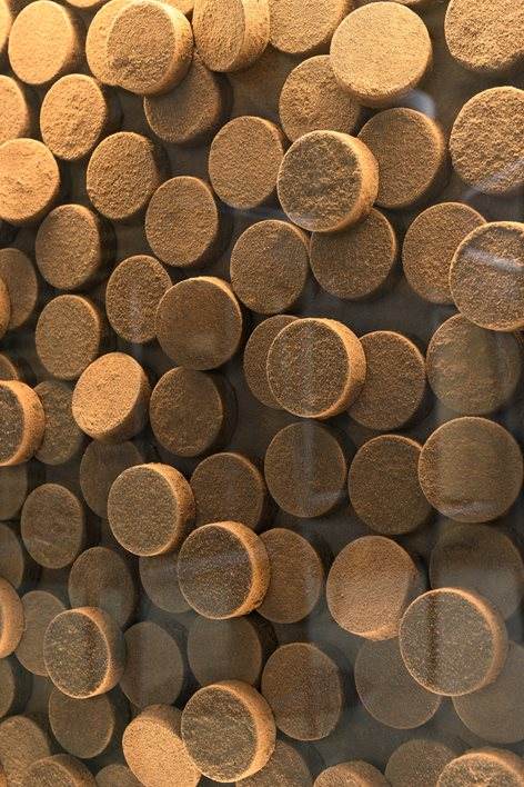 دکوراسیون داخلی قهوه بار طبیعی و سازگار با محیط زیست