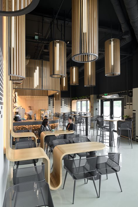 طراحی داخلی کافه و قهوه بار