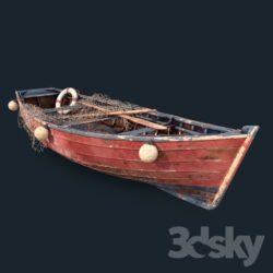 دانلود آبجکت کشتی و قایق از Pro 3DSky