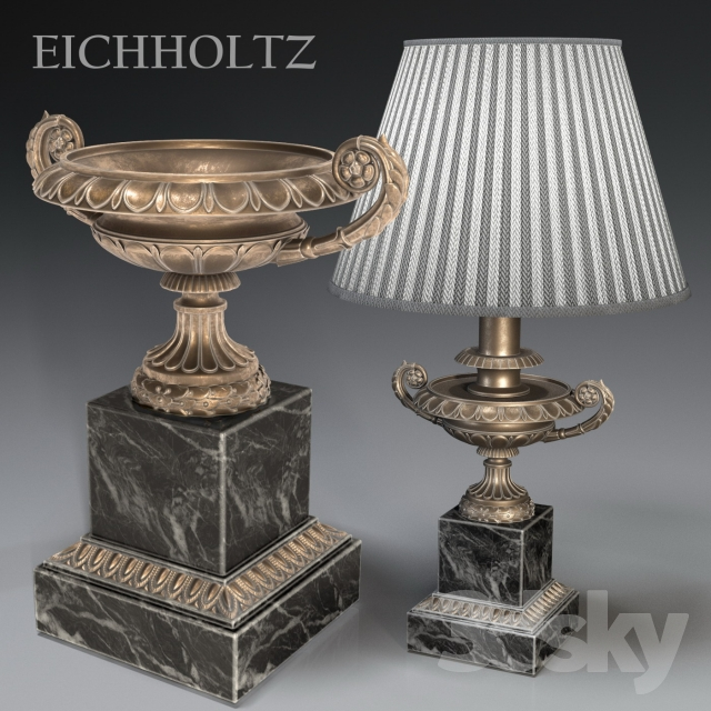مدل سه بعدی چراغ روشنایی