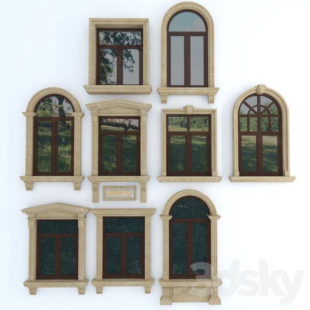 آبجکت پنجره کلاسیک