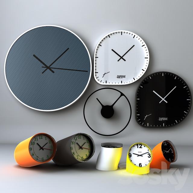 مدل سه بعدی ساعتدیواری