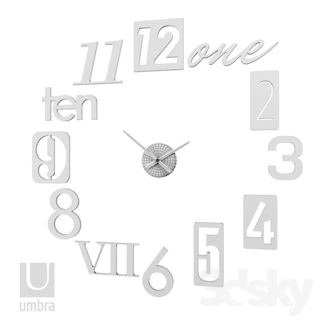 آبجکت ساعت از Pro 3DSky