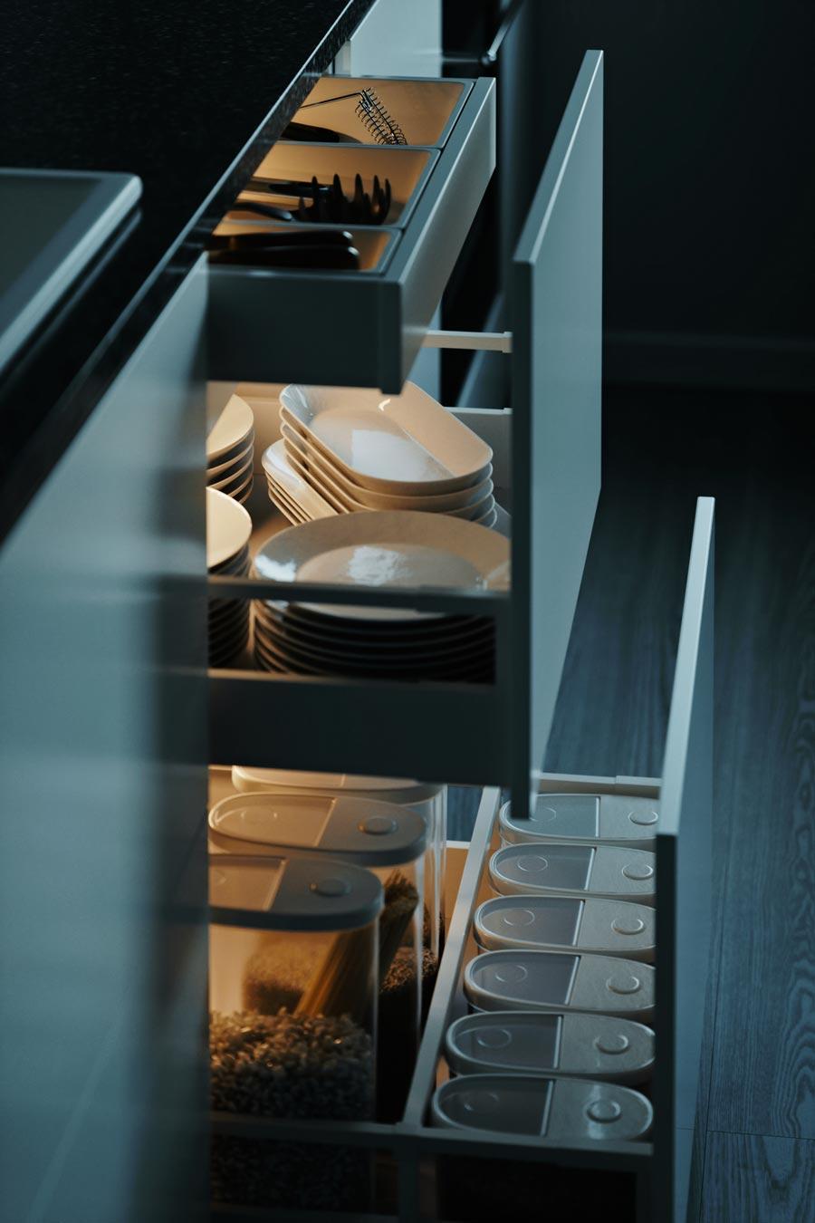 آموزش مدلسازی کابینت آشپزخانه