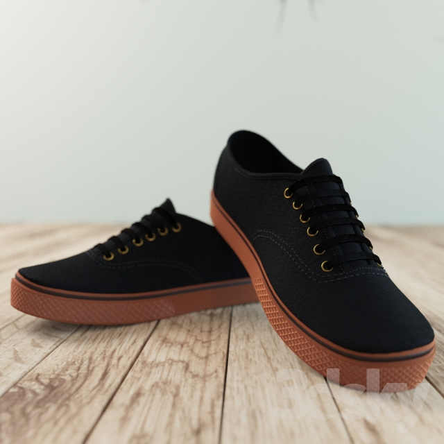 مدل سه بعدی کیف و کفش