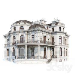 دانلود مدل سه بعدی ساختمان از Pro 3DSky