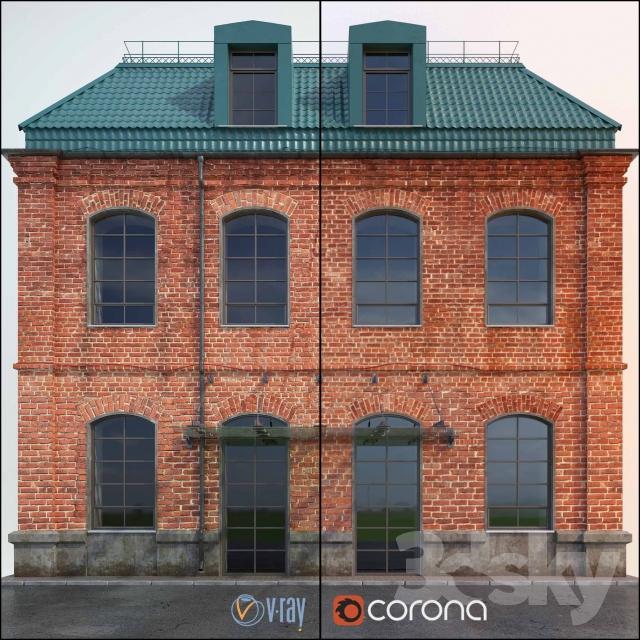 آبجکت نمای ساختمان