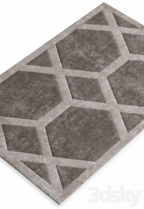 مدل سه بعدی فرش