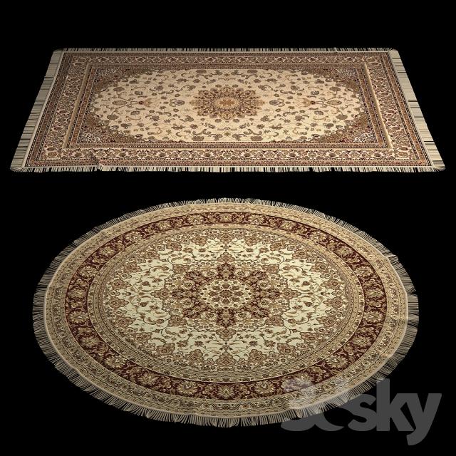 مدل سه بعدی فرش و موکت