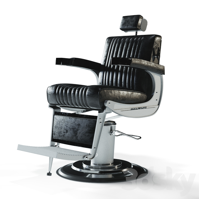 مدل سه بعدی صندلی آرایشگاه