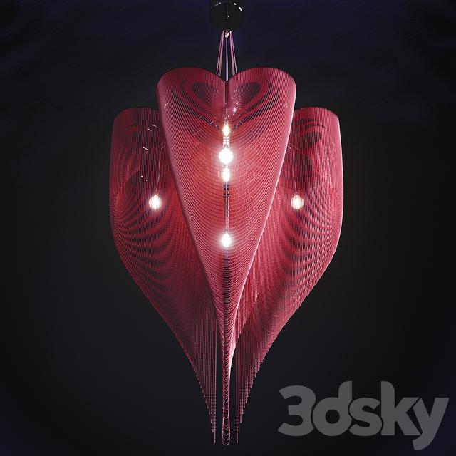 مدل سه بعدی لوستر