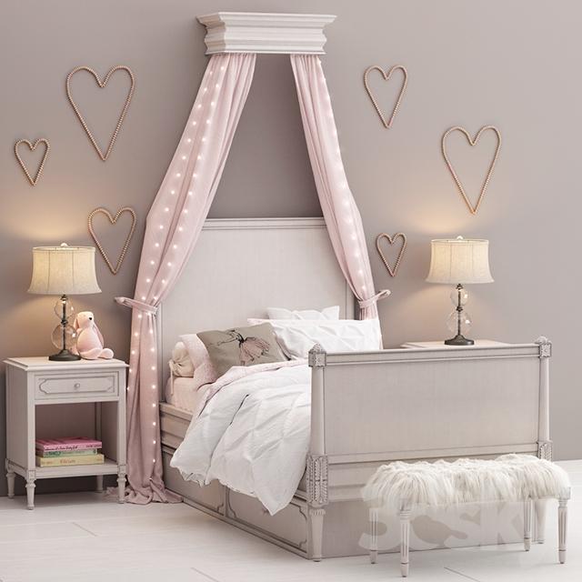 دانلود 43 آبجکت تختخواب کودک