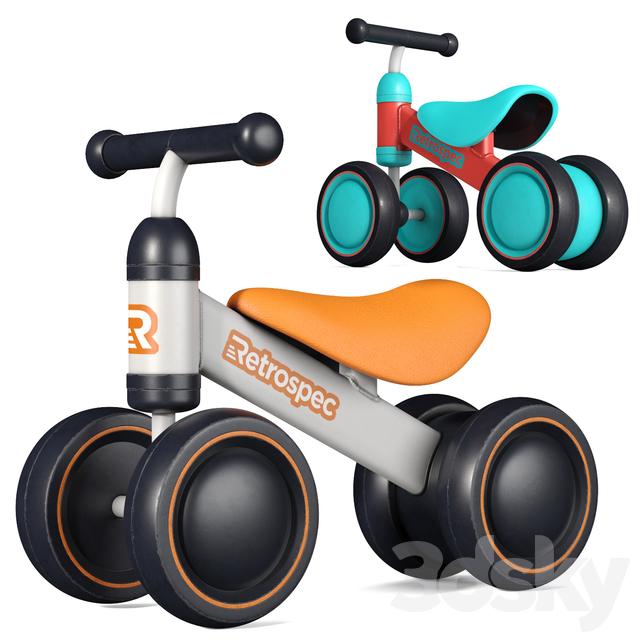 مدل سه بعدی دوچرخه کودک
