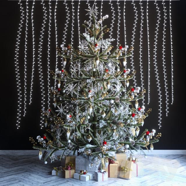 مدل سه بعدی کریسمس