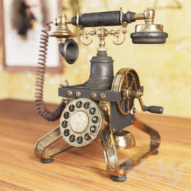 آبجکت تلفن کلاسیک