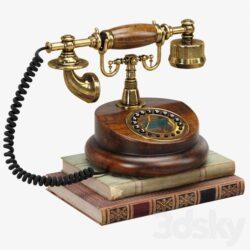 دانلود آبجکت تلفن کلاسیک از Pro 3DSky