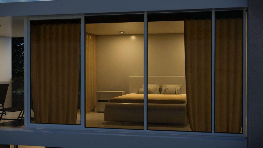 آموزش طراحی خانه مدرن سه بعدی در بلندر