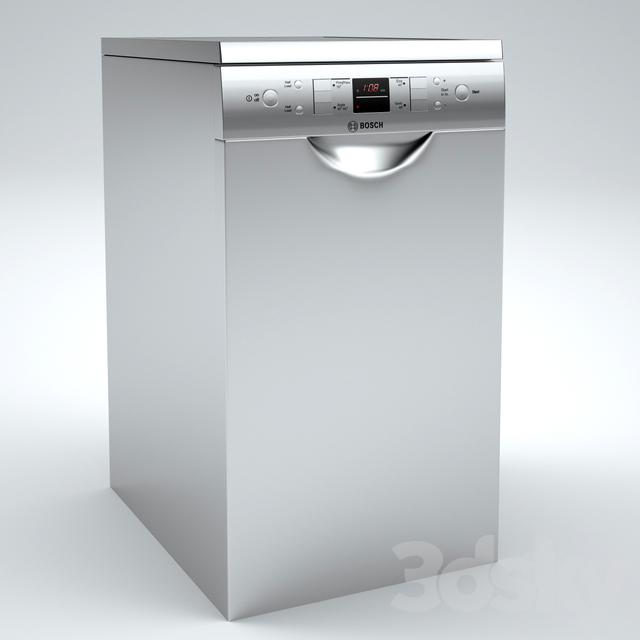 مدل سه بعدی ماشین ظرفشویی
