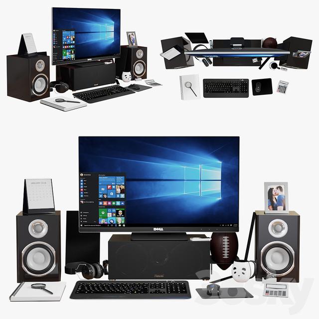 آبجکت لپ تاپ و کامپیوتر