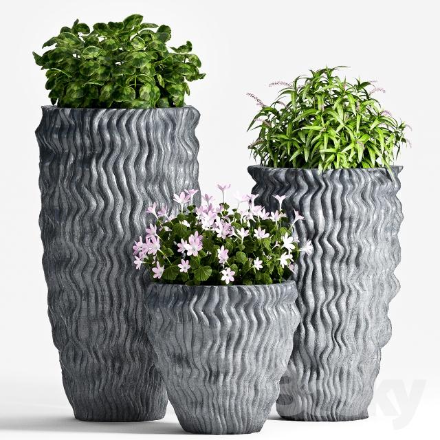 دانلود 80 آبجکت گل و گلدان