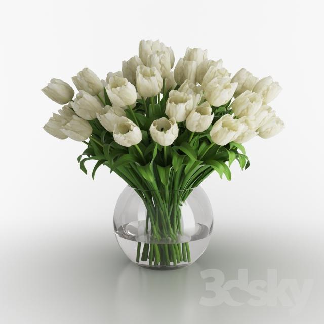 مدل سه بعدی گلدان