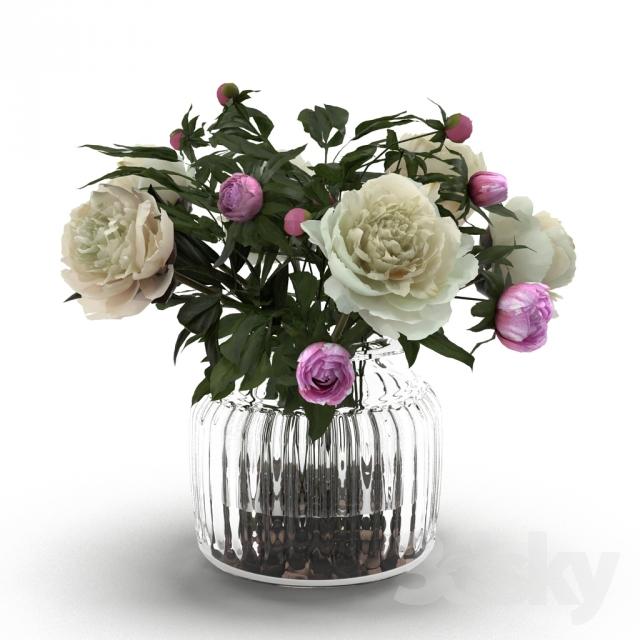 دانلود 78 آبجکت گل و گلدان
