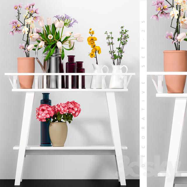 دانلود 68 آبجکت گل و گلدان