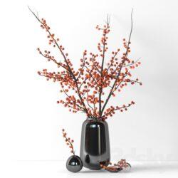 دانلود 68 آبجکت گل و گلدان از Pro 3DSky – کالکشن 6