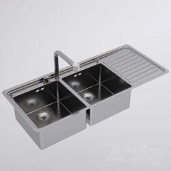 دانلود آبجکت سینک ظرفشویی از Pro 3DSky