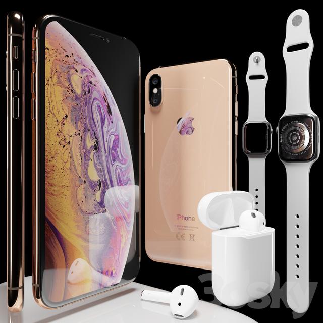 مدل سه بعدی تلفن همراه