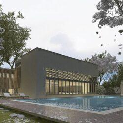 دانلود آبجکت خانه ویلایی مدرن
