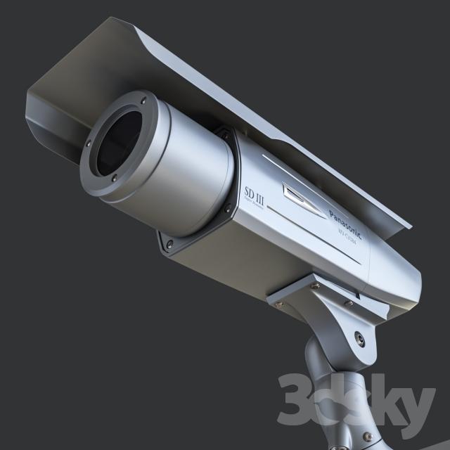 مدل سه بعدی تجهیزات عکاسی