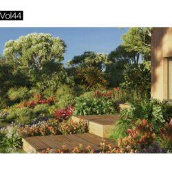 دانلود 126 آبجکت گل و گیاه از Maxtree – کالکشن 44
