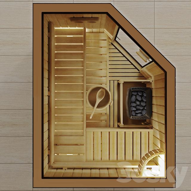 مدل سه بعدی سونا