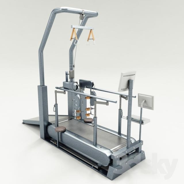 مدل سه بعدی تجهیزات ورزشی