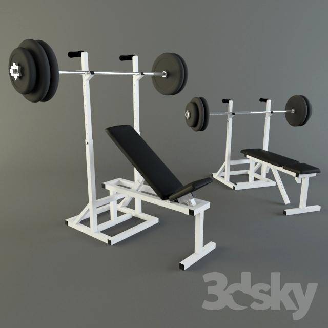 دانلود 31 آبجکت لوازم ورزشی