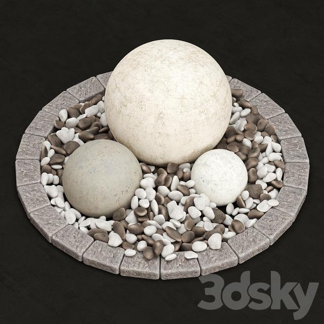 مدل سه بعدی سنگ