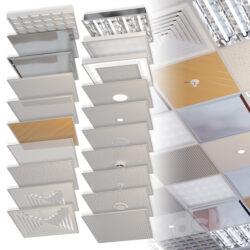 دانلود آبجکت سقف کاذب از Pro 3DSky