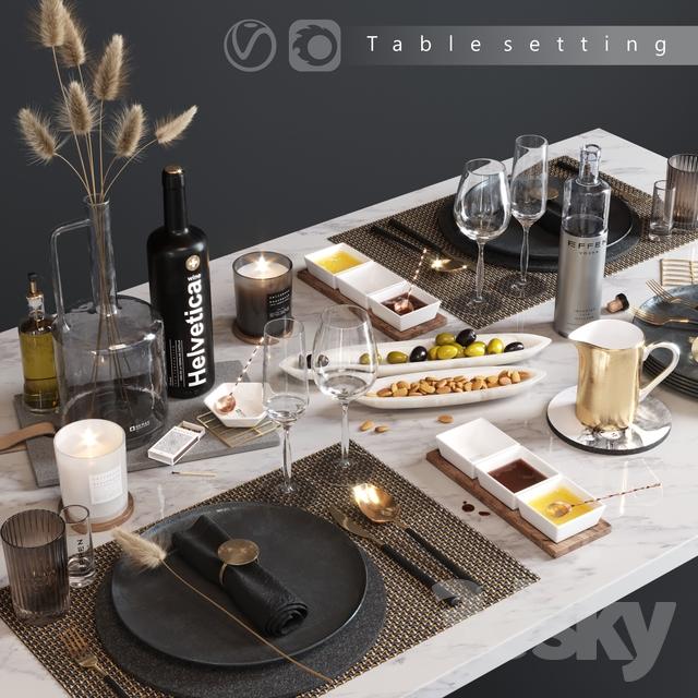 دانلود 29 آبجکت میز غذا