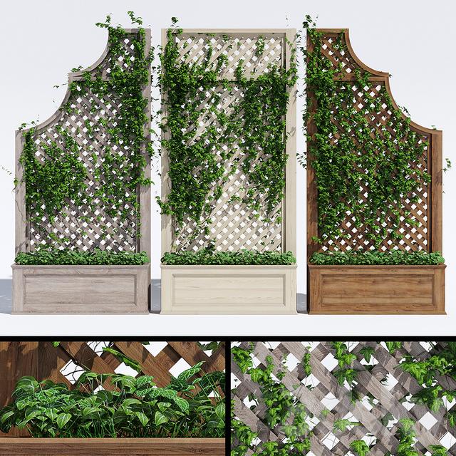 مدل سه بعدی گل و گیاهان زینتی