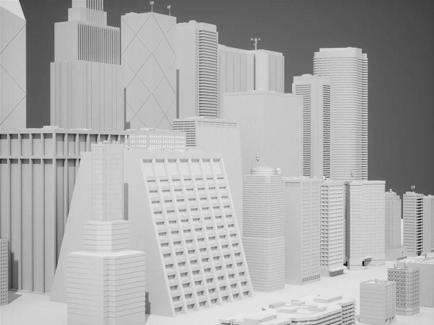آبجکت ساختمان شهری