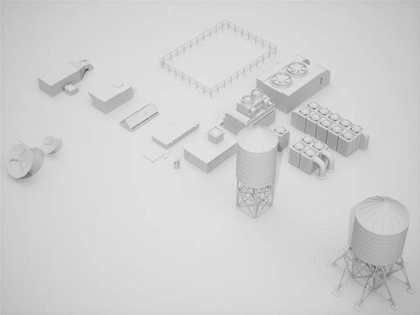 مدل سه بعدی بلوک های شهری
