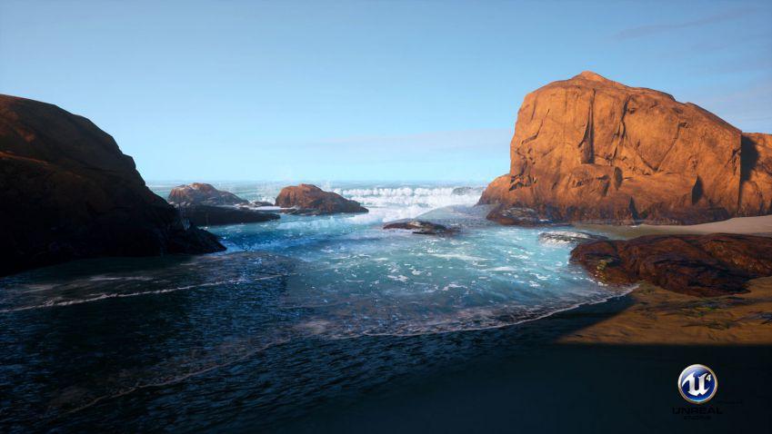 آموزش ایجاد اقیانوس واقعی در آنریل انجین