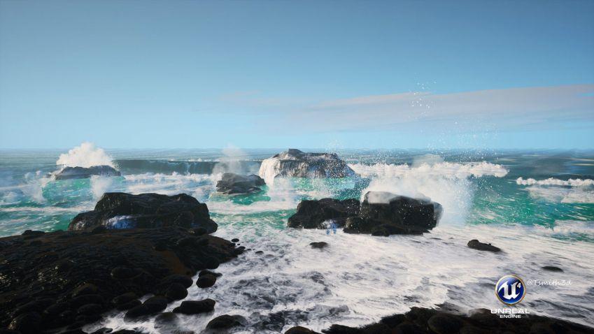 آموزش شبیه سازی اقیانوس با Unreal Engine 4